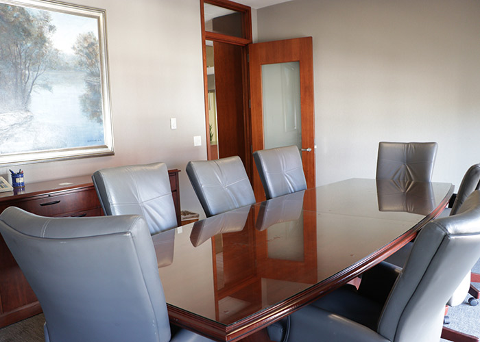 Conference room at Young Wells Law Firm